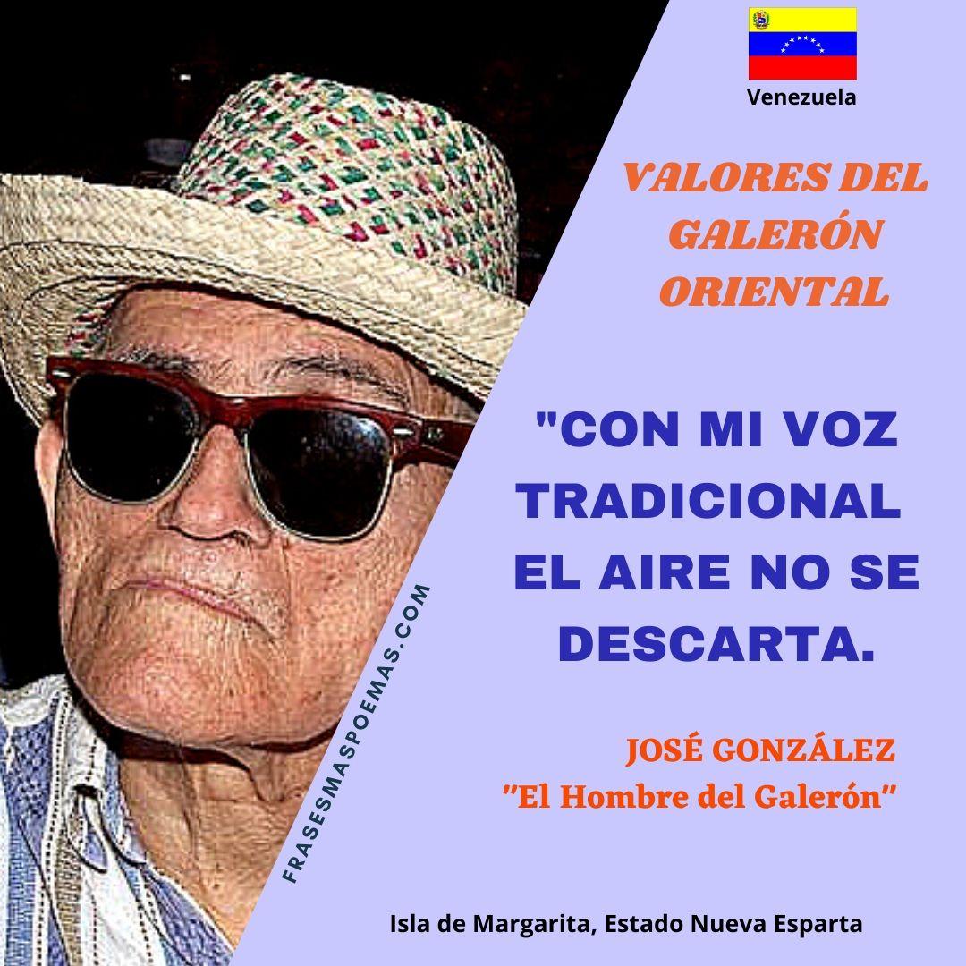 JOSÉ GONZÁLEZ EL HOMBRE DEL GALERÓN