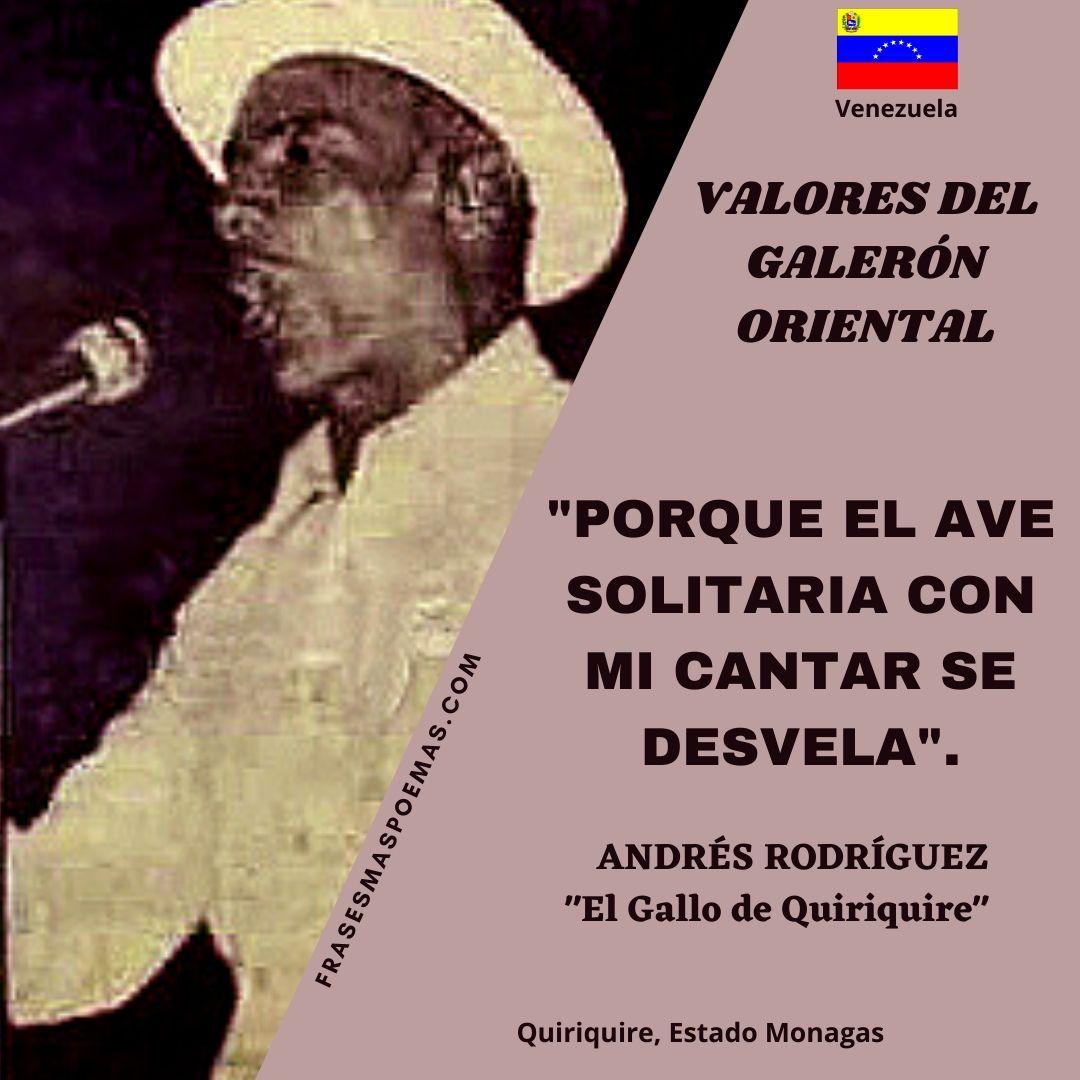 ANDRÉS RODRÍGUEZ EL GALLO DE QUIRIQUIRE