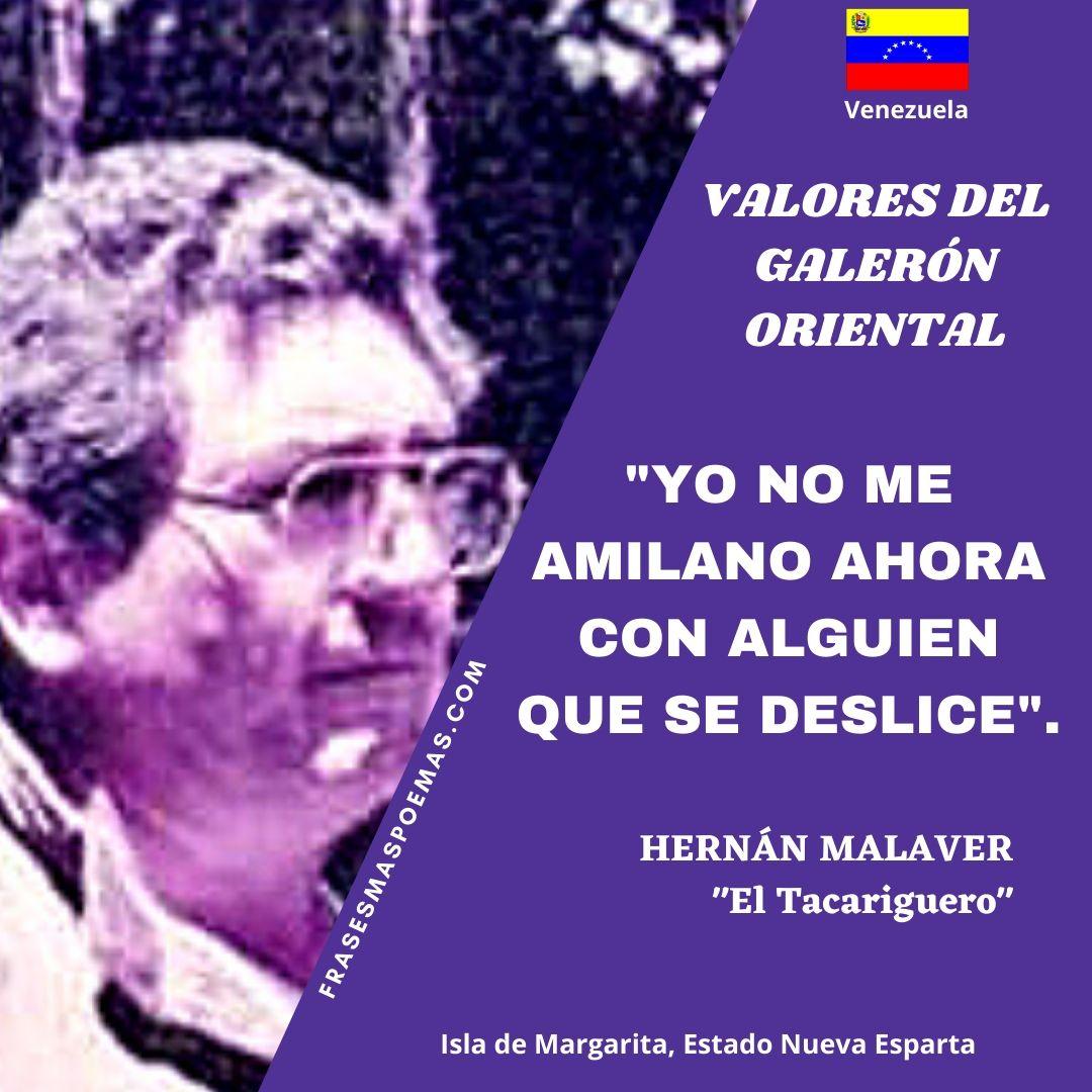 HERNÁN MALAVER EL TACARIGUERO