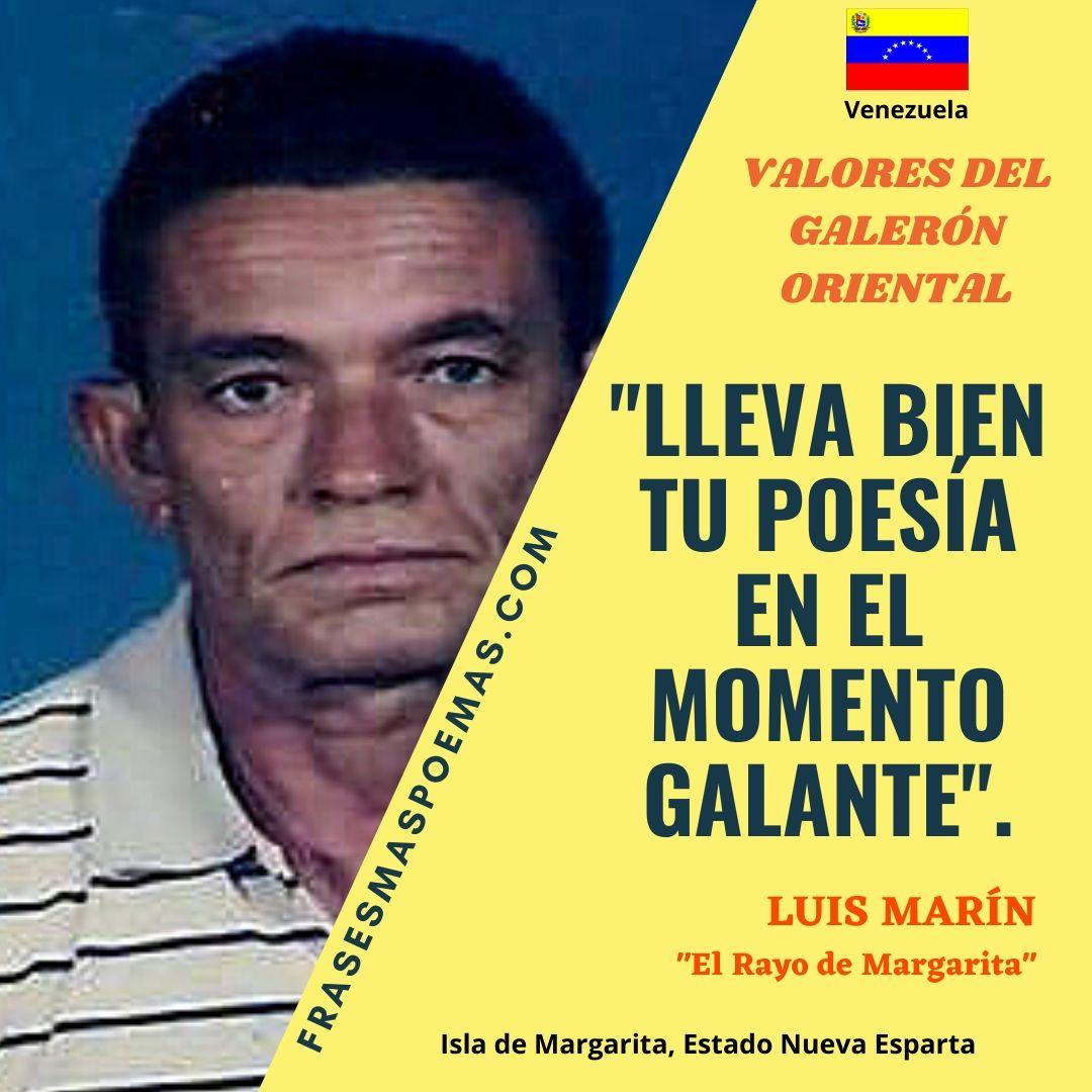LUIS MARÍN EL RAYO DE MARGARITA