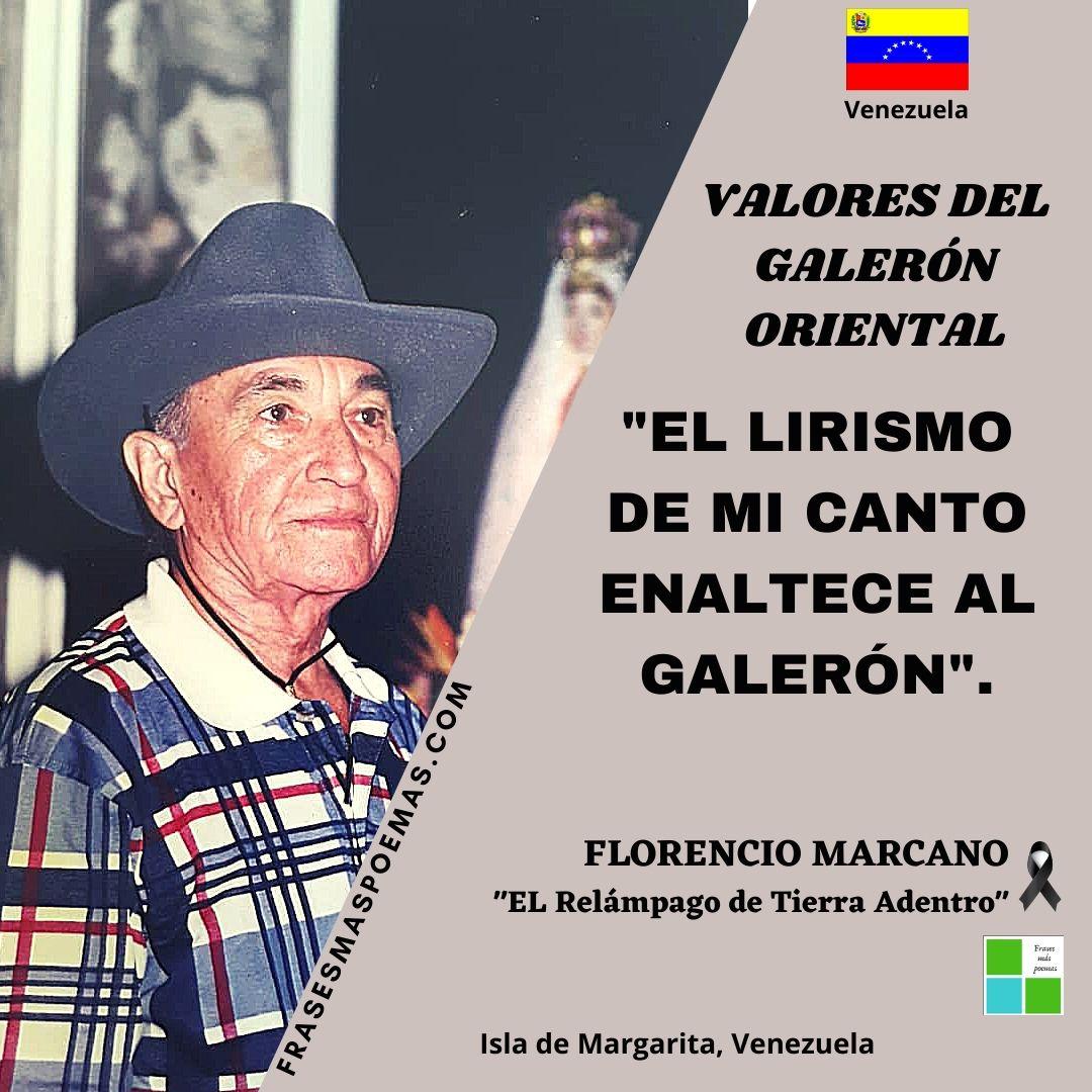 FLORENCIO MARCANO EL RELÁMPAGO DE TIERRA ADENTRO