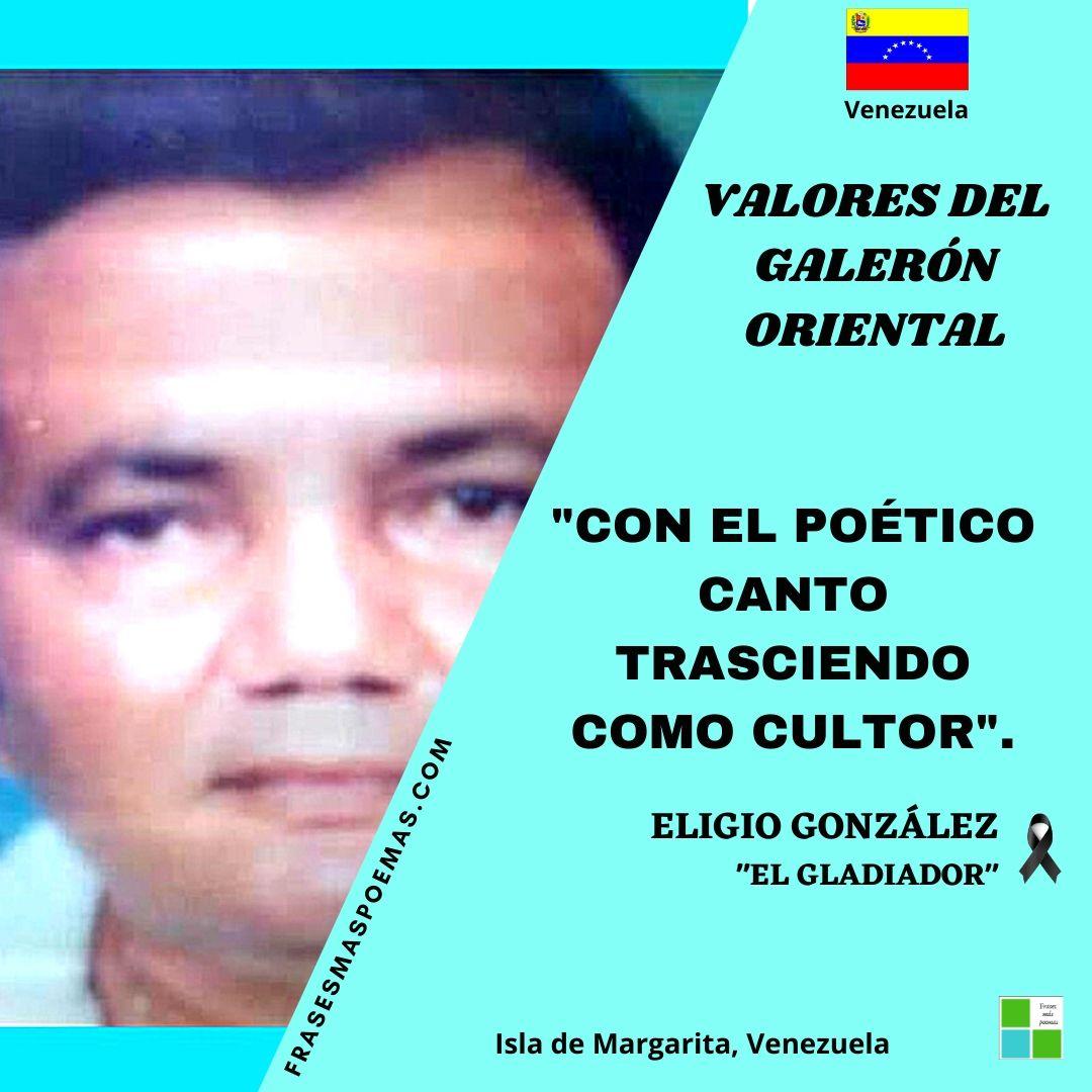ELIGIO GONZÁLEZ EL GLADIADOR