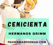 """""""La cenicienta"""" de Los hermanos Grimm"""