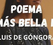 """""""La más bella niña"""" de Luis de Góngora"""