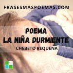"""""""La niña durmiente"""" de Chebeto Requena"""