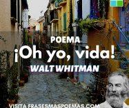 """""""¡Oh yo, vida!"""" de Walt Whitman"""