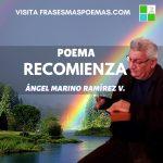 """""""Recomienza"""" de Ángel Marino Ramírez"""