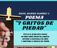 """""""7 gritos de piedad"""" de Ángel Marino Ramírez"""
