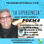 """""""La experiencia"""" de Ángel Marino Ramírez"""