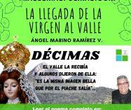 """""""La llegada de la Virgen al Valle"""" de Ángel Marino Ramírez"""