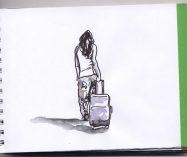 """""""Maletas pesadas"""" de Eunice Castillo"""
