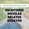 Escritores, novelas, relatos