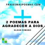 2 poemas para agradecer a Dios