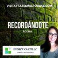 """""""Recordándote"""" de Eunice Castillo"""