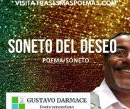"""Soneto del deseo"" de Gustavo Darmace"