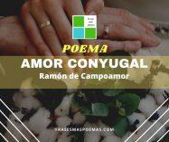 """""""Amor conyugal"""" de Ramón de Campoamor"""