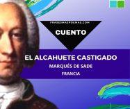 """""""El alcahuete castigado"""" del Marqués de Sade (Cuento)"""
