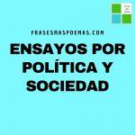 Ensayos por Política y Sociedad
