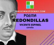 """""""Redondillas"""" de Vicente Espinel (Poema)"""