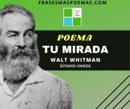 """Tu mirada"" de Walt Whitman (Poema)"