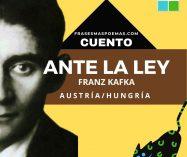 """""""Ante la ley"""" de Franz Kafka (Cuento)"""