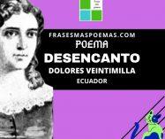 """""""Desencanto"""" de Dolores Veintimilla (Poema)"""