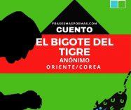 """""""El bigote del tigre"""" de Anónimo (Cuento)"""