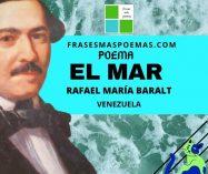 """""""El mar"""" de Rafael María Baralt (Poema)"""