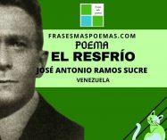 """""""El resfrío"""" de José Antonio Ramos Sucre (Poema)"""