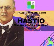 """""""Hastío"""" de Ernesto Noboa y Caamaño (Poema)"""