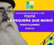 """""""La pequeña que murió"""" de Francis Jammes (Poema)"""