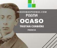 """""""Ocaso"""" de Tristan Corbière (Poema)"""