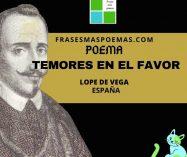 """""""Temores en el favor"""" de Lope de Vega"""