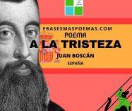 """""""A la tristeza"""" de Juan Boscán (Poema)"""