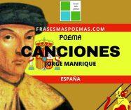 """""""Canciones"""" de Jorge Manrique (Poema)"""