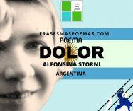 """Dolor"" de Alfonsina Storni (Poema)"