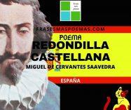 """""""Redondilla castellana"""" de Miguel de Cervantes Saavedra (Poema)"""