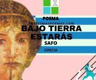"""""""Bajo tierra estarás"""" de Safo (Poema)"""