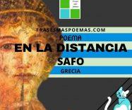 """""""En la distancia"""" de Safo (Poema)"""