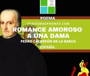"""""""Romance amoroso a una dama"""" de Pedro Calderón de la Barca (Poema)"""
