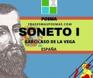 """""""Soneto I"""" de Garcilaso de la Vega (Poema)"""