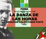 """""""La danza de las horas"""" de Abraham Valdelomar Pinto (Poema)"""