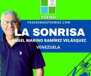 """La sonrisa"" de Ángel Marino Ramírez V. (Poema)"