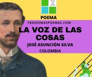 """""""La voz de las cosas"""" de José Asunción Silva (Poema)"""
