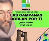 """Las campanas doblan por ti"" de John Donne (Poema)"