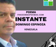 """""""Instante"""" de Domingo Espinoza (Poema)"""