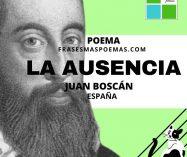"""La ausencia"" de Juan Boscán (Poema)"