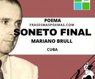 """""""Soneto final"""" de Mariano Brull (Poema)"""