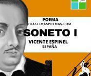 """Soneto I"" de Vicente Espinel (Poema)"